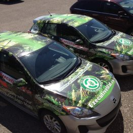 INK'D GRAPHICS Vehicle Advertising